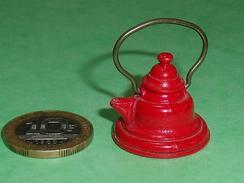 Sujets Métal : Bouilloire Creuse  (le Couvercle S'enleve )    TB18 - Miniatures Décoratives