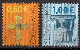 567 Slovacchia 2009-2010 Cattedrali E Decorazioni Capitello S. Vergine Bina Spišska Croce Nova Croce - Slovacchia