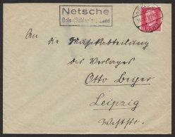 """Oberschlesien,Landpost- Ra """"Netsche, Oels (Schlesien) Land"""", 14.12.29 - Deutschland"""