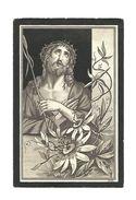 605. MARIA-CHRISTINA  VANBRABANT  Echtg. J. Guffens - °HEERS 1822 / +VEULEN 1898 - Devotion Images