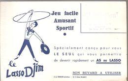 Buvard DJIM Le Lasso Djim Jeu Facile Amusant Sportif - Sports