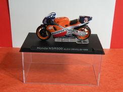 MOTO 1/24 > Honda NSR 500 Alex Criville 1999 (sous Vitrine) - Motorcycles
