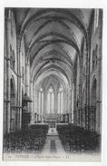 (RECTO / VERSO) LUXEUIL EN 1917 - N° 24 - L' EGLISE SAINT PIERRE - BEAU CACHET - CPA VOYAGEE - Luxeuil Les Bains
