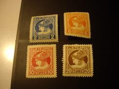 AUTRICHE -HONGRIE  1916  Serie  Journaux Neuve - Timbres