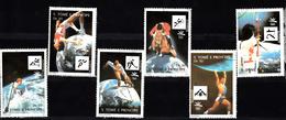 Sao Tome En Principe 1992 Mi Nr 1317 - 1322, Olympische Zomerspelen, Barcelona - Sao Tome En Principe