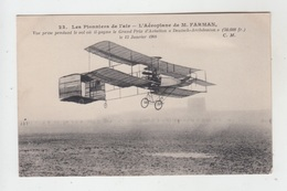 AVIATION / LES PIONNIERS DE L'AIR - L'AEROPLANE DE M. FARMAN - ....-1914: Précurseurs