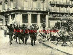 LIBERATION PARIS Reddition Allemande Kommandantur OPERA 26 Août 1944 GRANDE PHOTO - Guerre, Militaire