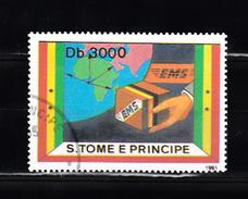 Sao Tome En Principe 1991 Mi Nr 1301,  EMS, Snelvracht - Sao Tome En Principe