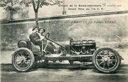 AUTOMOBILE DE COURSES(CIRCUIT DE LA SEINE INFERIEURE) - Cartes Postales