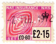 (I.B) Elizabeth II Revenue : National Insurance £2.15 - 1952-.... (Elizabeth II)