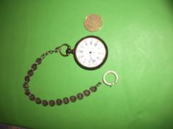 Ancienne Montre A Gousset , Argent Ou Metal Argenté , Cylindre Huit ,Chibis,GOT.A,numero 1264 - Taschenuhren
