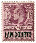 (I.B) Edward VII Revenue : Law Courts (Scotland) 1d - 1902-1951 (Kings)
