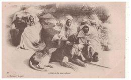 ALGÉRIE . LIONNE DU MARABOUT - Réf. N°5462 - - Scènes & Types