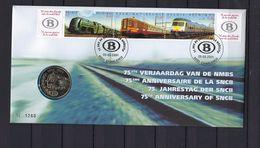N°2993/2995 Numisletter - Muntbrief GESTEMPELD SUPERBE - Numisletters