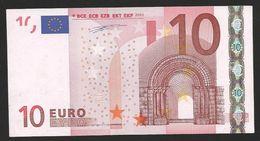 "Greece  ""Y"" 10  EURO GEM UNC! DUISENBERG Signature!!  ""Y""   Printer  F001H2 Extremely Rare Printer! - 10 Euro"
