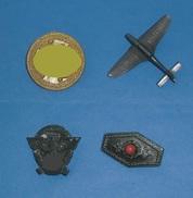 4 Stück WHW Abzeichen (25) - 1939-45