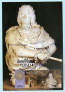 PORTUGAL - 300 YEARS PALACE& MONASTERY OF MAFRA MAXIMUM CARD - PALAIS DE MAFRA CARTE MAXIMUM - Cartoline Maximum