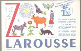 Buvard LAROUSSE Petit Larousse Grand Ami Jeu Des Mots (11 Mots à Trouver) Lettre Z - Papeterie