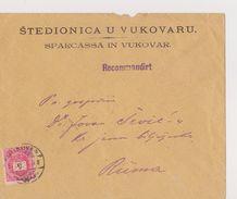 CROATIA     ---  BRIEF     --  VUKOVAR  /  STEDIONICA  U VUKOVARU  / RECO BRIEF /   1897 - Kroatien