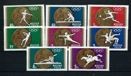 HUNGRIA 1969 - HUNGARY - OLYMPICS MEXICO 68 - MEDALLAS - YVERT Nº 2020-2027** - Summer 1968: Mexico City