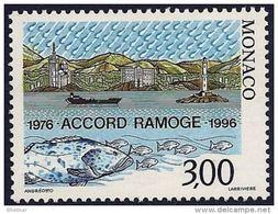 "Monaco YT 2038  "" Accods De Ramoge "" 1996 Neuf** - Ungebraucht"