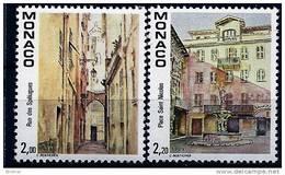 "Monaco YT 1669 & 1670 "" Vues Du Vieux-Monaco "" 1989 Neuf** - Monaco"