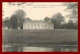 Théme Chateau :  La Chapelle Sur Erdre * Chateau De L'hopitau    ( Scan Recto Et Verso ) - Other Municipalities