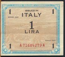 °°° ITALIA - 1 AM LIRE 1943 FLC °°° - [ 3] Military Issues