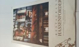Restaurant Roger Hassenforder (champion Cycliste Années 1950/1960) - Placas De Cartón