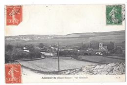 AMBONVILLE - Vue Générale - France