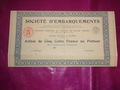 Société D'EMBARQUEMENTS (alger,algérie) - Shareholdings