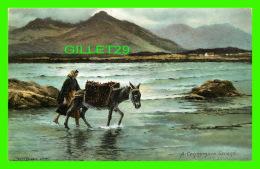 GALWAY, IRLANDE -  A CONNEMARA STRAND - - Galway