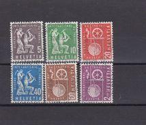 Schweiz Aemter BIT 1956-10-22 Satz ET-Vollstempel - Officials