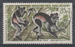 Madagascar, Lemur, Indri, Babakoto, 1961, VFU  Airmail - Madagascar (1960-...)