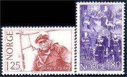 690 Norvege Voile King Olav Sailing MNH ** Neuf SC (NOR-129) - Ships