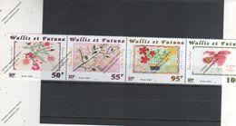 Wallis Et Futuna Nº  550 Al 553 - Wallis Und Futuna