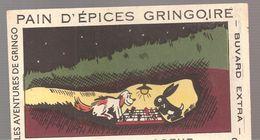 Buvard GRINGOIRE PAIN D'EPICES GRINGOIRE Les Aventures De Gringo N°3 Echec Au Chasseur - Gingerbread