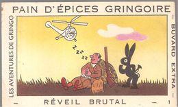 Buvard GRINGOIRE PAIN D'EPICES GRINGOIRE Les Aventures De Gringo N°1 Réveil Brutal - Gingerbread