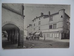 71 TOURNUS Arcade & Maison De L'Escargot Edit. Bourgeois Frères Châlon-Sur-Saône Correspondance Militaire - France
