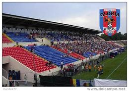 Stadium Stadionul Municipal (Buzău) (FC Gloria Buzău, Romania) Postcard - Size: 15x10 Cm. Apr - Fútbol