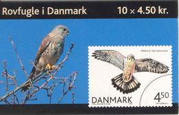 DENMARK, 2004, Facit HS 141, Birds Of Prey, Mi 1383 - Boekjes
