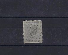 N°17 GESTEMPELD Pt126 Flemalle COB € 3,00 COBA € 10,00 SUPERBE - 1865-1866 Linksprofil