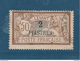 Colonie Timbre Du Levant De 1902/20  N°20 Oblitéré - Oblitérés