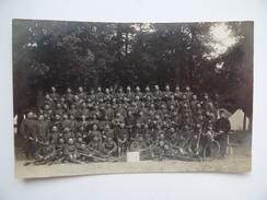 2 Cartes Photo Fanfare Musicien Guerre 1914 1918 Caserne Militaire Armée Soldat Régiment Infanterie - War 1914-18