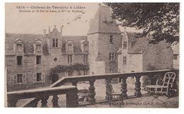 29 - Cléder . Château De Tronjoly - Réf. N°5482 - - Cléder