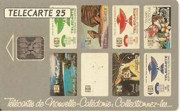 CARTE-PUCE-NOUVELLE-CALEDONNIE-25U-NC10A -SC5-05/94- PATCHWORK TELECARTES-V° TGN°C44100806-UTILISEE-TBE- - New Caledonia