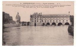 37 - CHÂTEAU DE CHENONCEAU . Façade Occidentale - Réf. N°5483 - - Chenonceaux