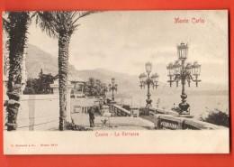 MIQ-23  Monte-Carlo  Casino  La Terrazza. Précurseur. Non Circulé - Monte-Carlo