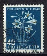 Schweiz 1948 // Michel 517 O (011.346) - Gebruikt
