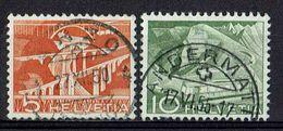 Schweiz 1949 // Michel 530,531 O (011.348) - Gebruikt